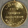 States of Guernsey Liberation medal; given to children who were in Guernsey during the German Occupation. Guernsey Museum Object No. GMAG 1980.67