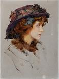 Lady with hat - Marion Saumarez